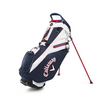 GolfBag Fairway 14 Double Strap Stand Bag - Navy/Red Callaway Golf Picture
