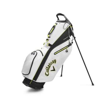 GolfBag Fairway C Double Strap Stand Bag - White/Black Callaway Golf Picture