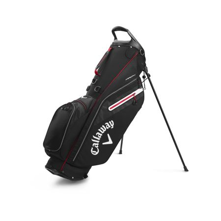 GolfBag Fairway C Single Strap Stand Bag - Black/White Callaway Golf Picture