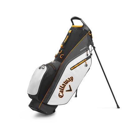 GolfBag Fairway C Single Strap Stand Bag - Black/White/Orange Callaway Golf Picture