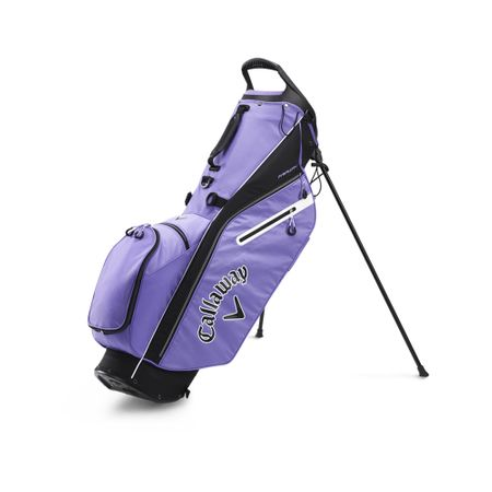 GolfBag Fairway C Single Strap Stand Bag - Lilac/Black Callaway Golf Picture