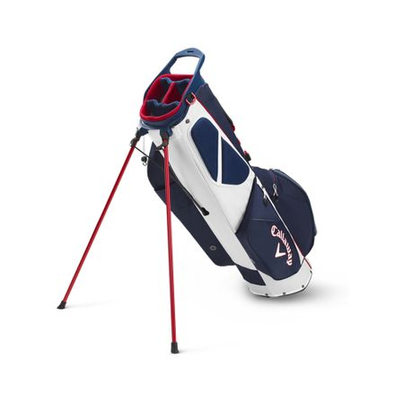 GolfBag Fairway C Single Strap Stand Bag - Navy/Red Callaway Golf Picture