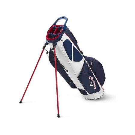GolfBag Fairway C Single Strap Stand Bag - Navy/Red Flag Callaway Golf Picture
