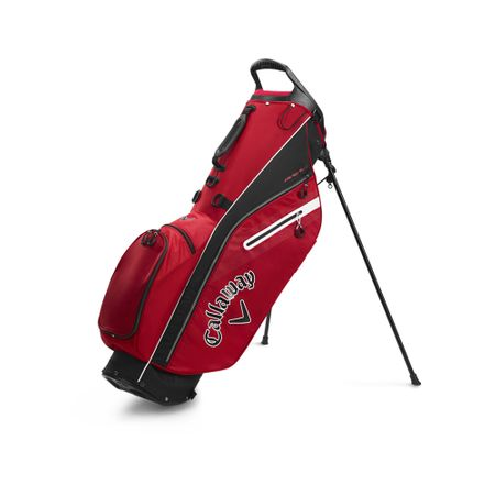 GolfBag Fairway C Single Strap Stand Bag - Red/Black Callaway Golf Picture