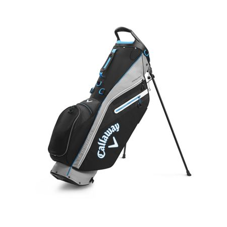 GolfBag Fairway C Single Strap Stand Bag - Silver/Black Callaway Golf Picture