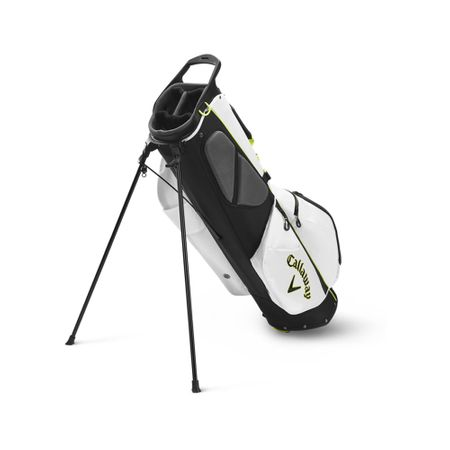 GolfBag Fairway C Single Strap Stand Bag - White/Black Callaway Golf Picture