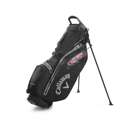 GolfBag Hyper Dry C Double Strap Stand Bag - Black/Charcoal Callaway Golf Picture