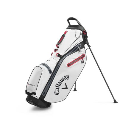GolfBag Hyper Dry C Double Strap Stand Bag - White/Black Callaway Golf Picture