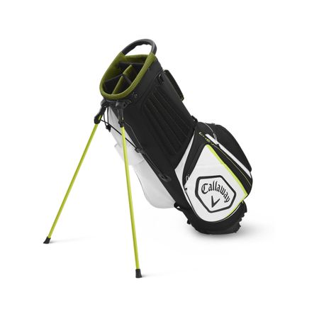 GolfBag Chev Stand Bag - Black/Floral Yellow Callaway Golf Picture