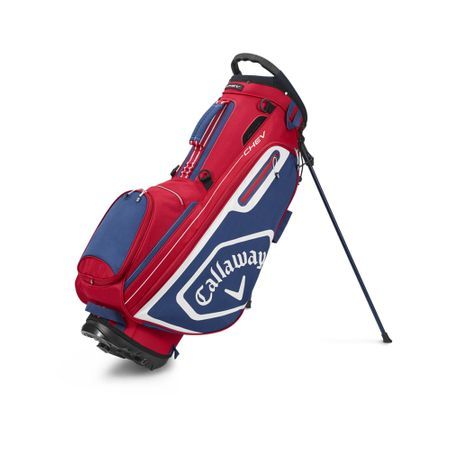 GolfBag Chev Stand Bag - Red/Navy Callaway Golf Picture