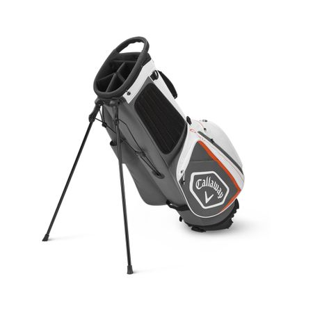 GolfBag Chev Stand Bag - White/Charcoal Callaway Golf Picture