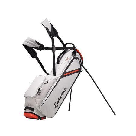 GolfBag FlexTech Lite Stand Bag - Silver/Blood Orange TaylorMade Golf Picture