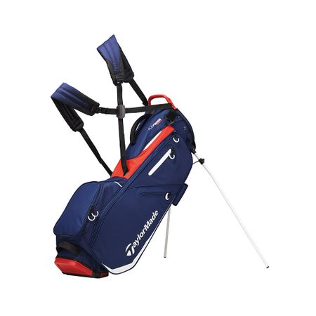 GolfBag FlexTech Stand Bag - Navy/Red/White TaylorMade Golf Picture