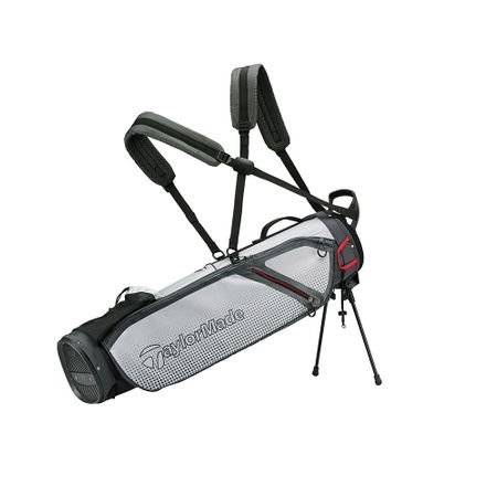 GolfBag Quiver Stand Bag - LiteGrey/White TaylorMade Golf Picture
