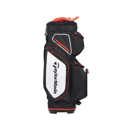 GolfBag Pro Cart 8.0 - Black/White/Red TaylorMade Golf Picture