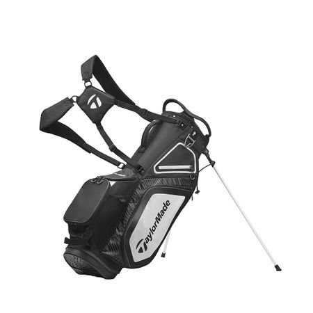 GolfBag Pro Stand 8.0 - Black/White/Charcoal TaylorMade Golf Picture