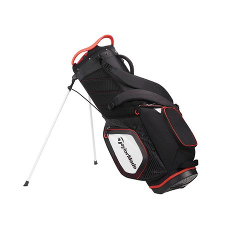 GolfBag Pro Stand 8.0 - Black/White/Red TaylorMade Golf Picture