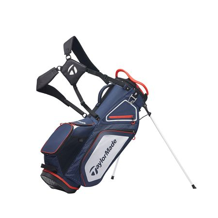 GolfBag Pro Stand 8.0 - Navy/White/Red TaylorMade Golf Picture