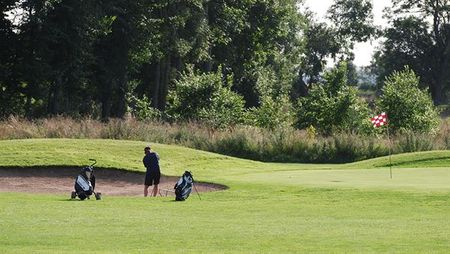 Lugnets Golf Course Cover Picture