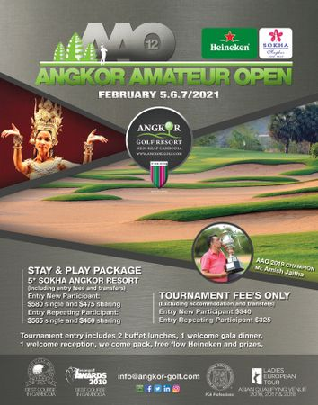 Angkor Amateur Open 2021 Cover Picture