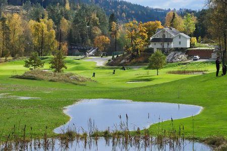 Gjersjøen Golfklubb Cover Picture