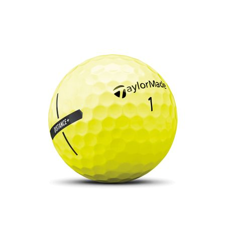 Ball Distance + Yellow TaylorMade Golf Picture