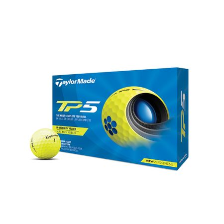 Ball TP5 Yellow (2021) TaylorMade Golf Picture