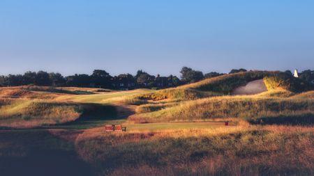 Royal Saint George's Golf Club Cover