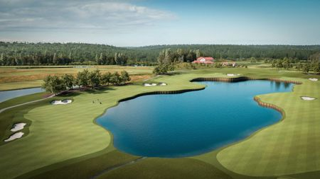Osterakers Golfklubb - Öster by Stenson Cover Picture