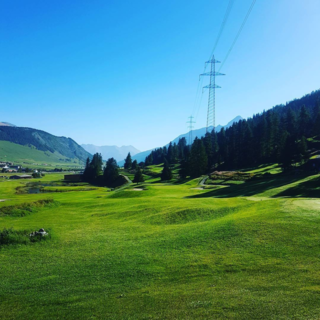 Engadine golf club zuoz madulain post image