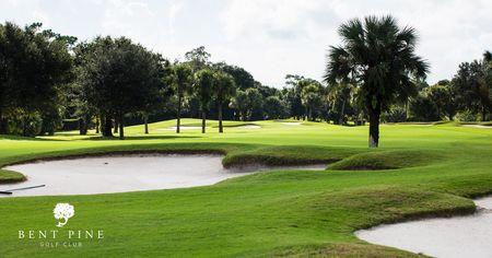Bent pine golf club post image