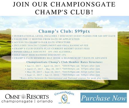 Championsgate international course post image